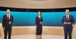 Boca de urna indica empate entre partido de Merkel e social-democratas
